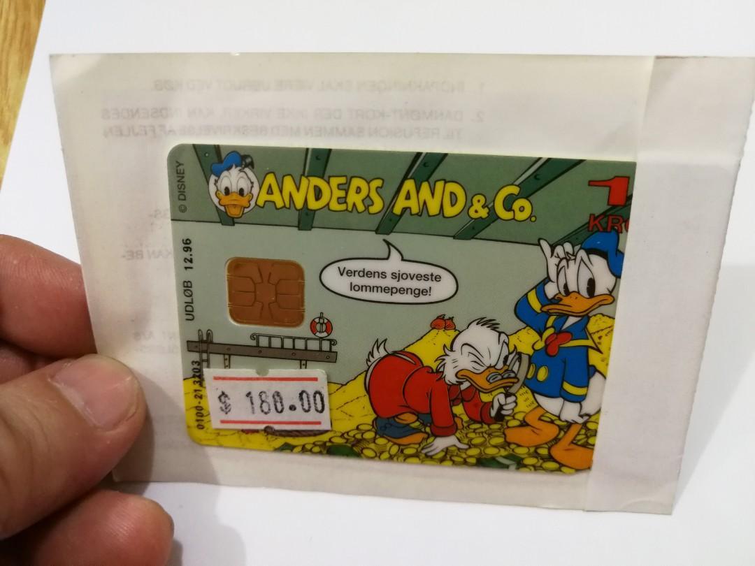 廸士尼電話卡(只供收藏)電話卡迷恩物。