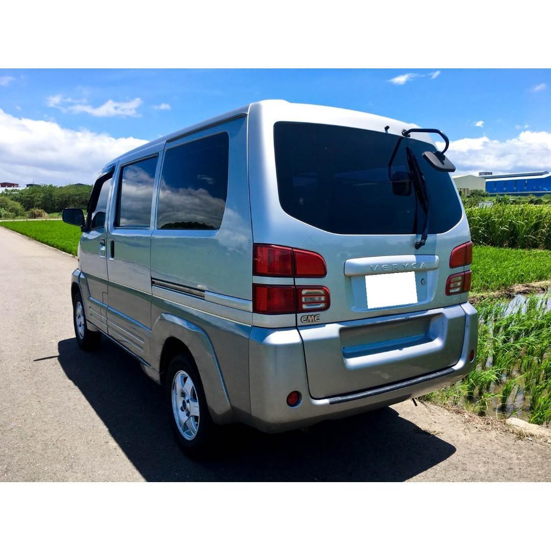 商用廂型車  2004 神奇 手排  日本引擎  車況優 冷暖氣正常  可全額貸