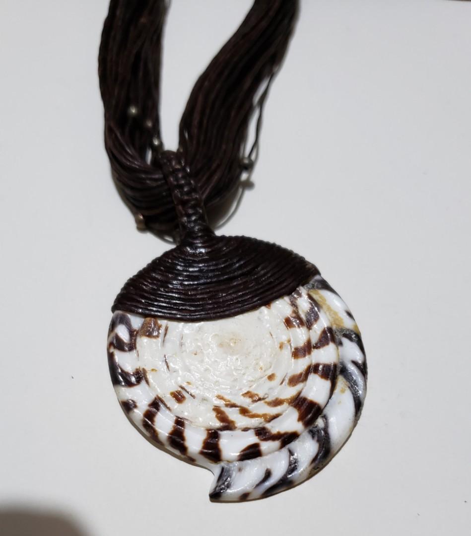 泰國 白色貝殼頸鏈