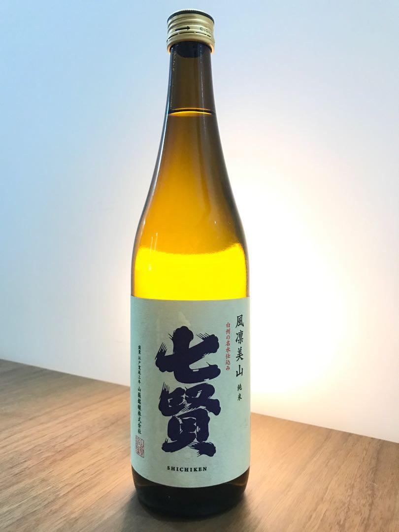 七賢 風凜美山 純米酒