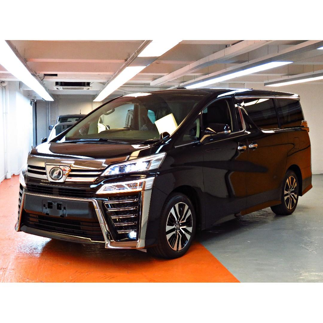 2019 Toyota Vellfire 3.5 ZAG