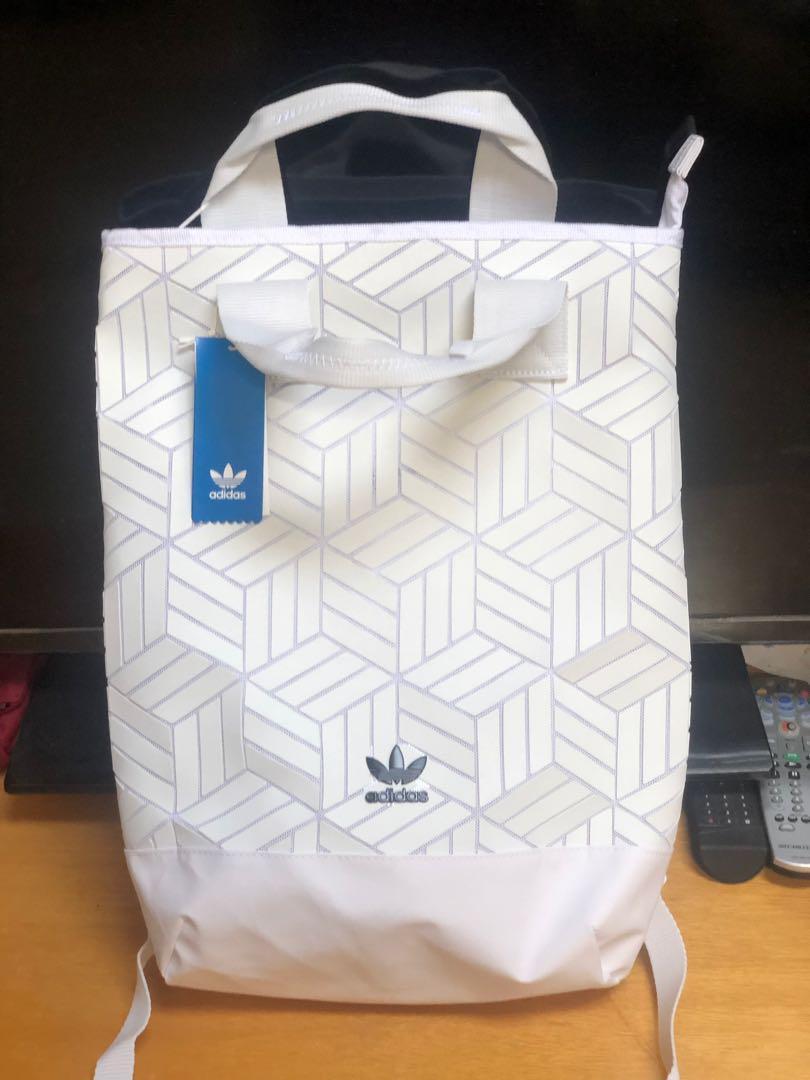 adidas 三宅一生元素背包