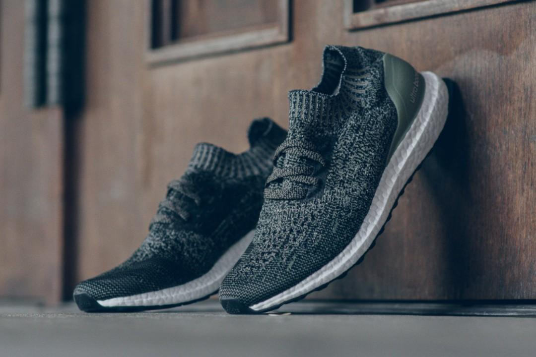 best authentic cf354 2f2e0 ADIDAS ULTRA BOOST UNCAGED TRACE CARGO RUNNING SHOES DA9160 ...