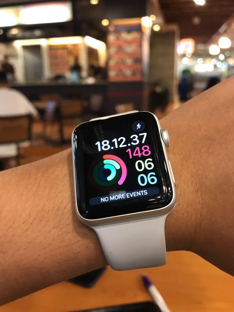 Apple watch series 3 silver 42mm