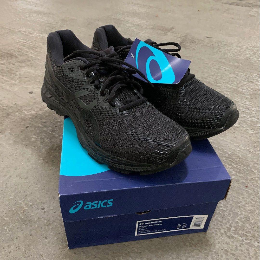 Asics Gel-Nimbus 20 (black/black/carbon