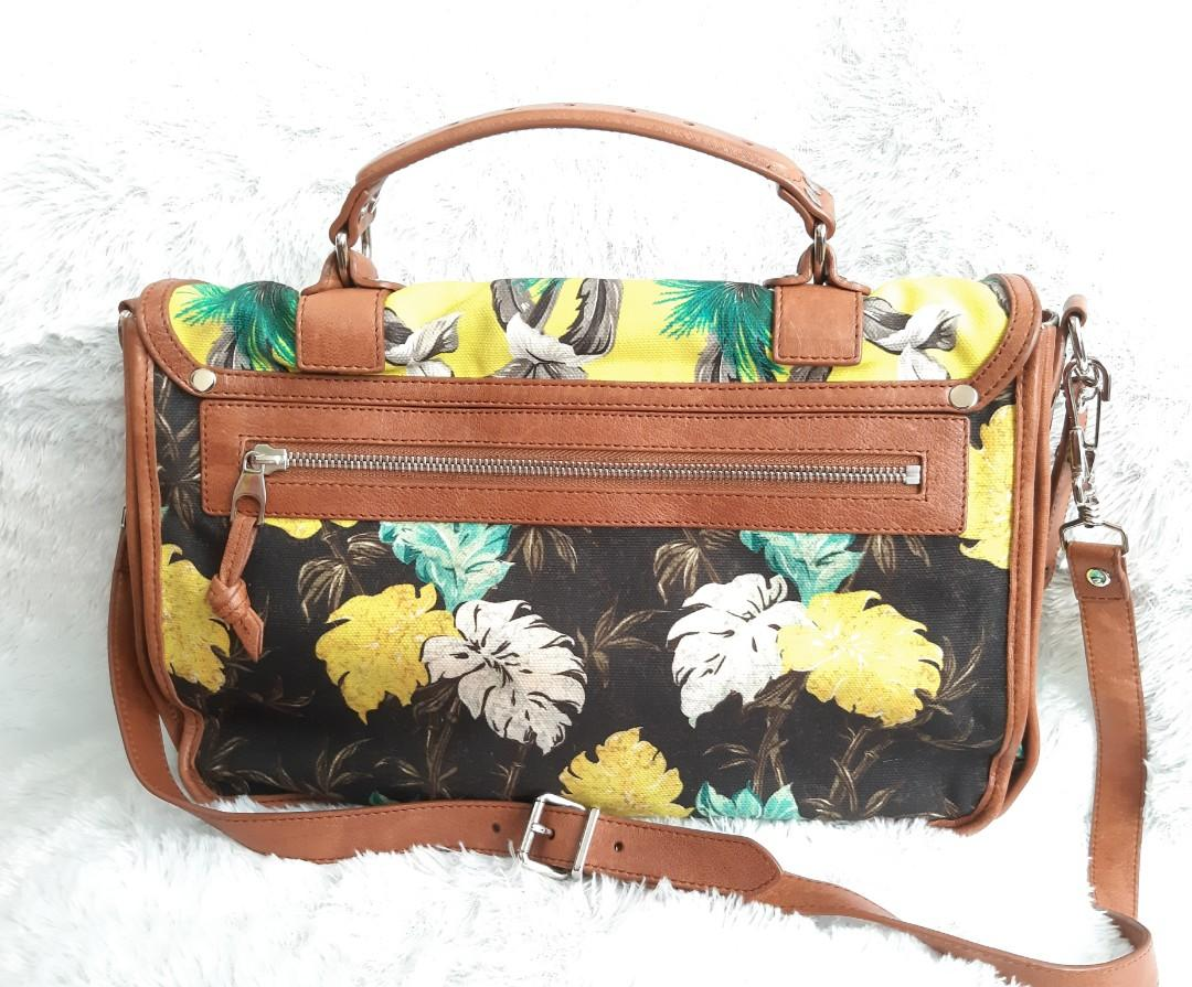 Authentic Proenza Schouler Italy Satchel Limited Edition Flower- VGC 💜🧡💛