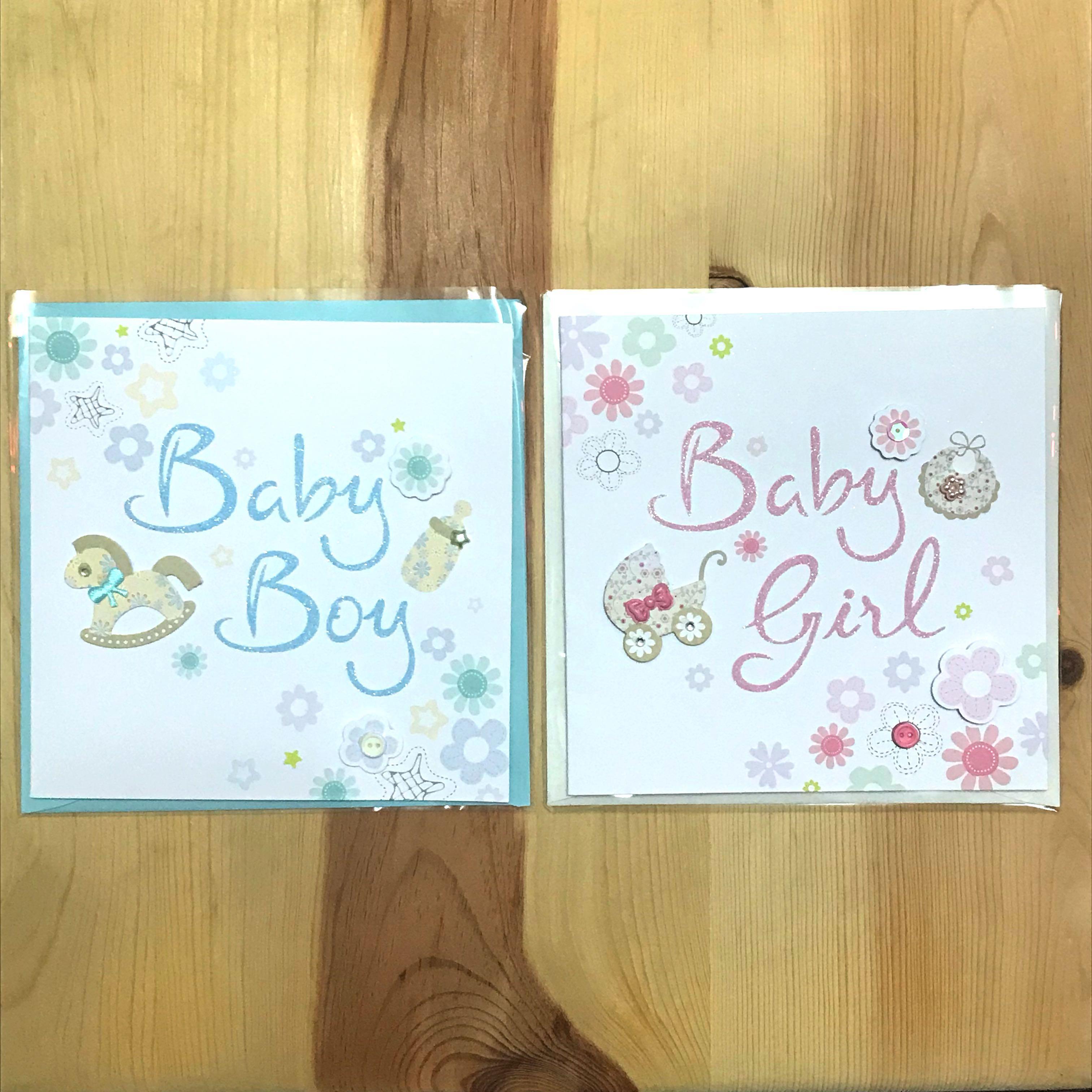 (包郵)Baby greetings card
