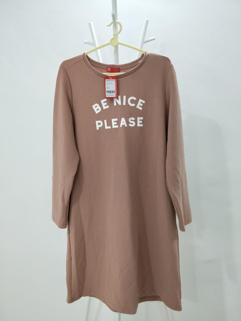 """""""Be Nice Please"""" TOP/BLOUSE"""