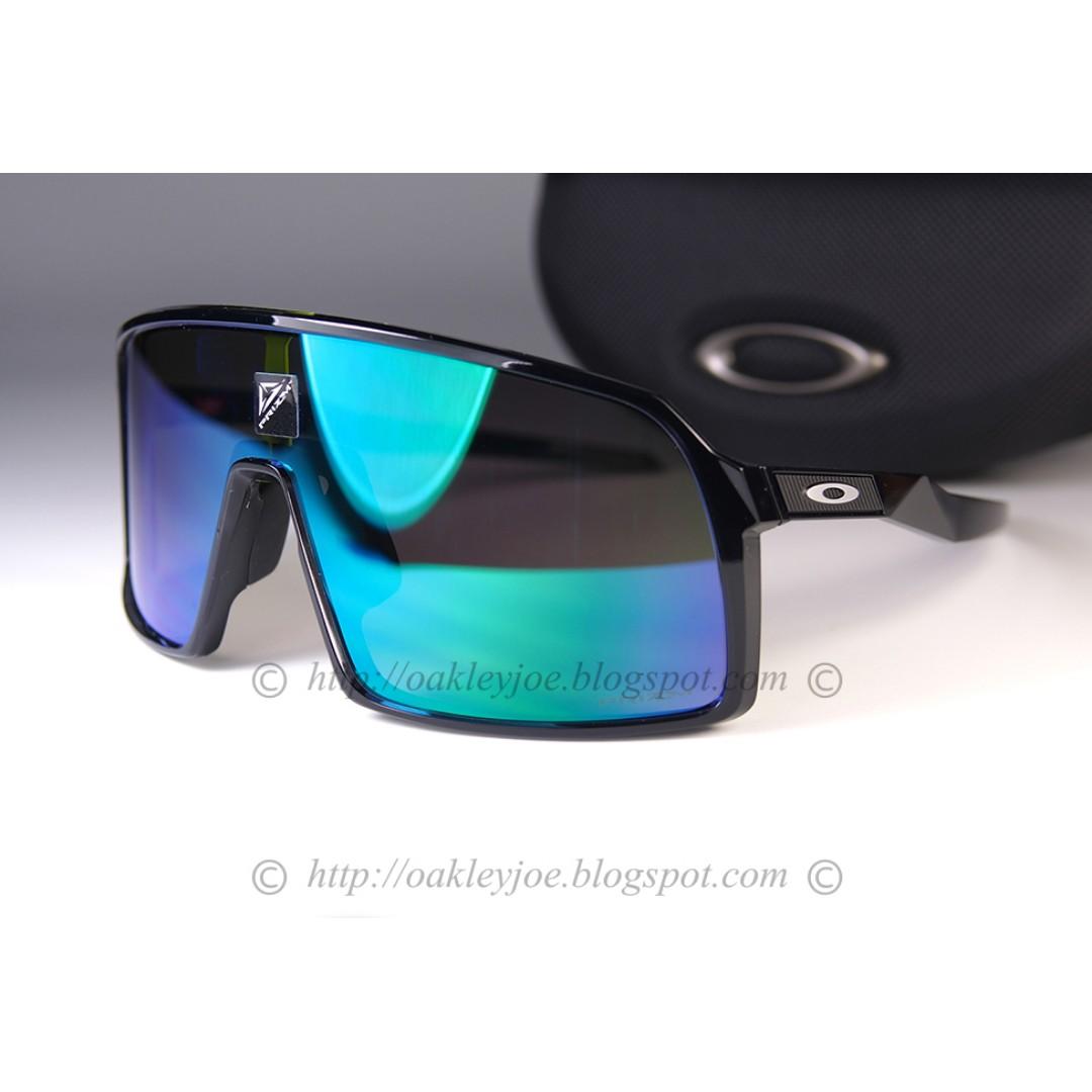 bae918095e818 BNIB Oakley Sutro black ink + prizm jade sunglass shades 001-152412 ...