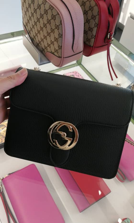 69b8dfc06055 Bnwt Authentic Gucci Classic GG Sling Shoulder Bag, Luxury, Bags ...