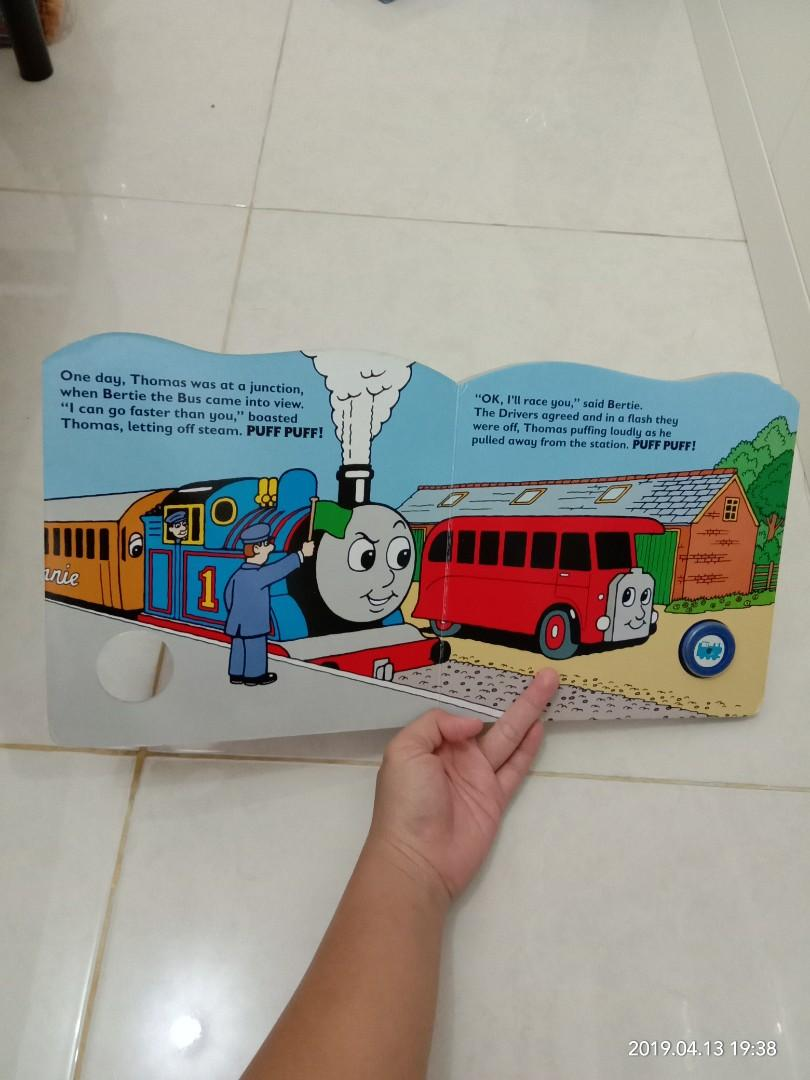 Boardbook Thomas and the Big Race