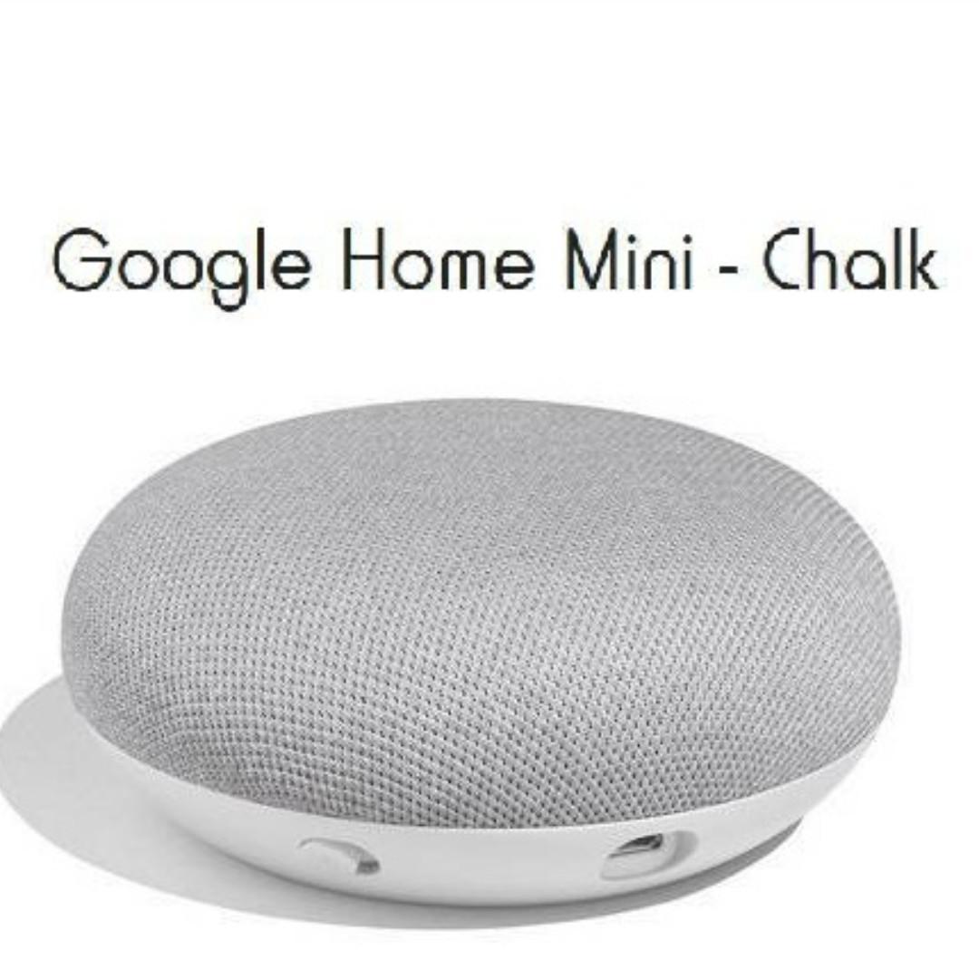 Brand New Google Home Mini (Chalk) still in sealed box RRP= $79