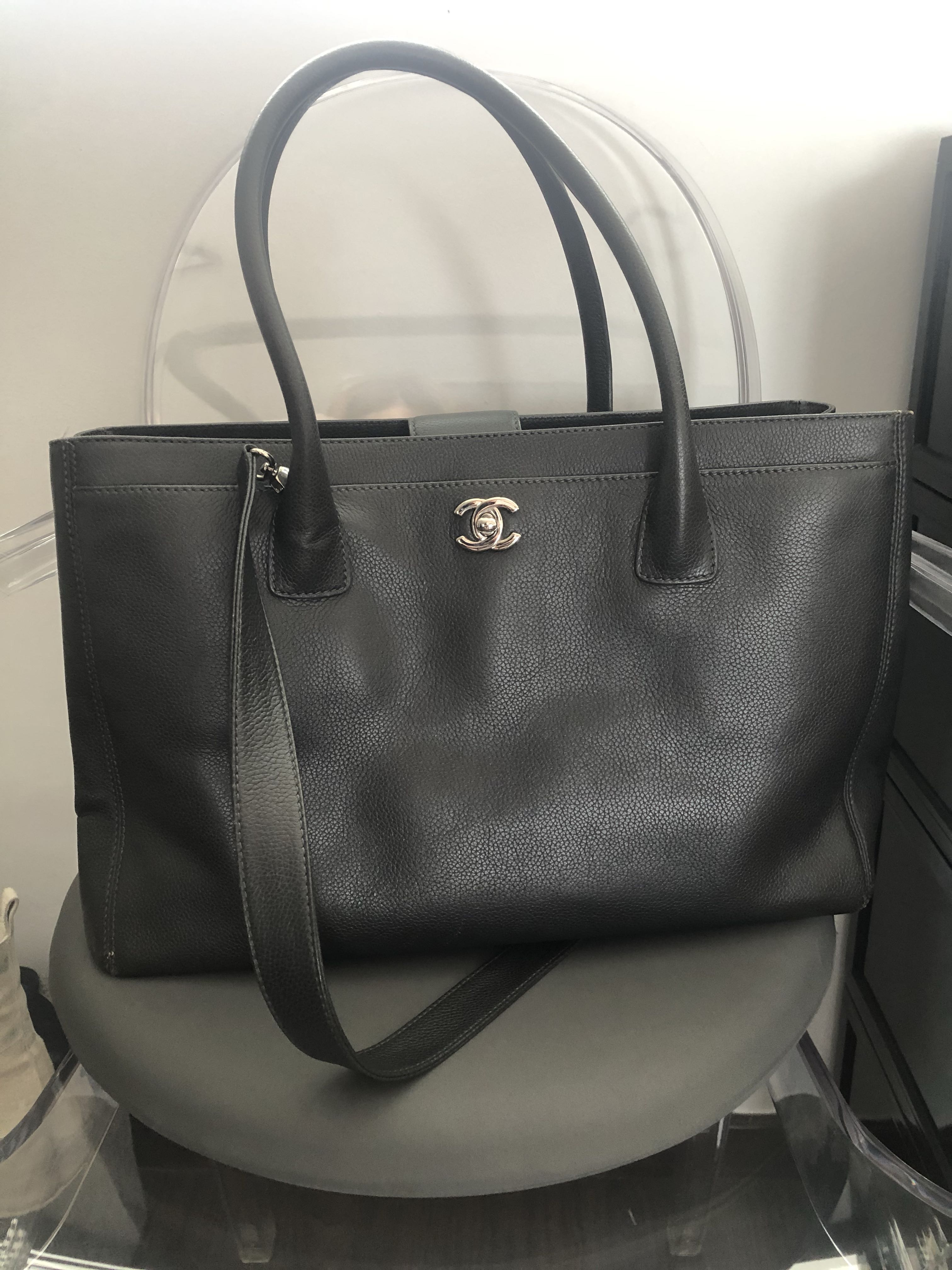 08355a7dd91d Chanel executive cerf tote, Women's Fashion, Bags & Wallets, Handbags on  Carousell