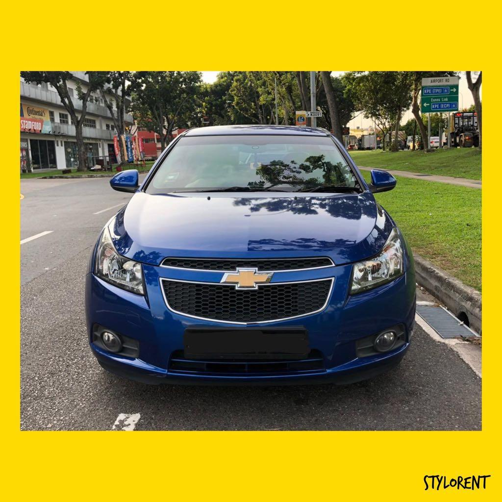 Chevrolet Cruze FOR RENT GRAB GOJEK RYDE