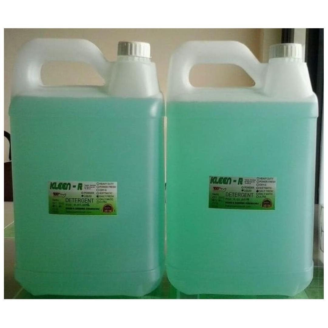 Deterjen Cair Daily Fresh, Kleen-R Harume @5L (Liquid Detergent)