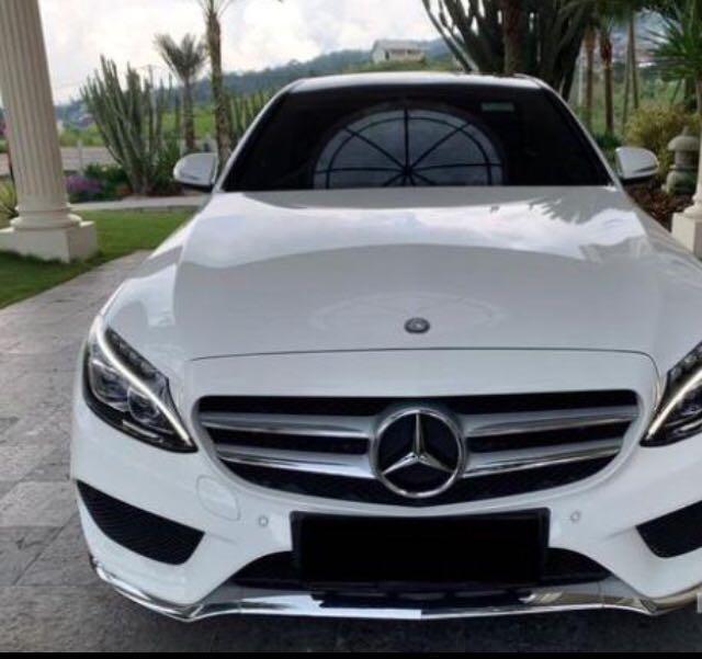 Dijual cepat C250 Amg Cbu 2014 w putih full original Nego