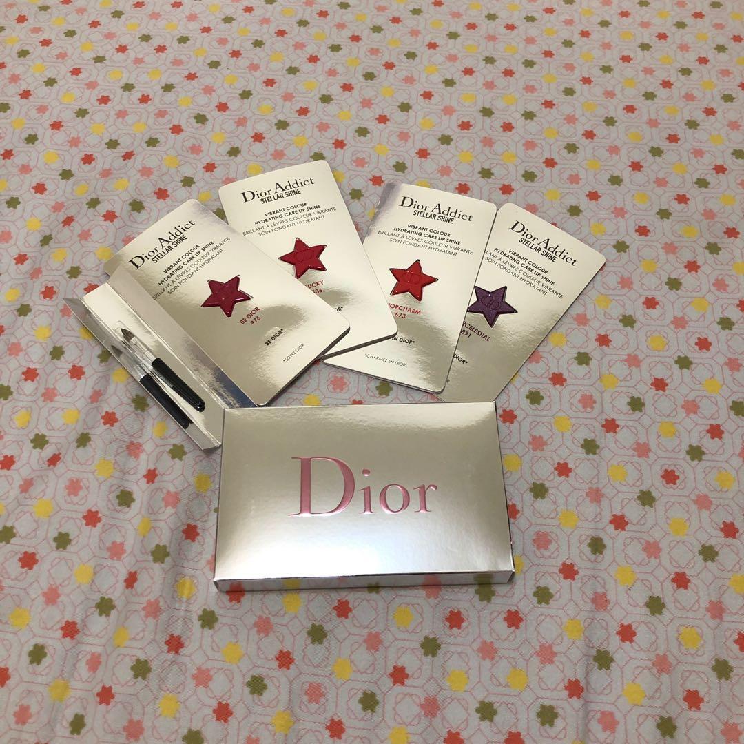 Dior癮誘超模巨星唇膏四色