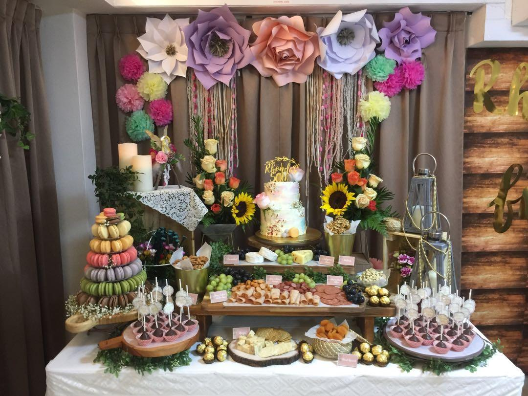 For Rent - Sweets/meat spread buffet table