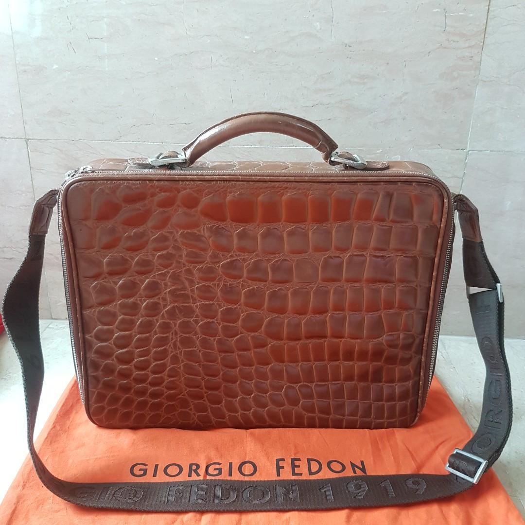Fedon BagsMen's Giorgio 1919Work FashionBagsamp; Wallets 9IWH2YED