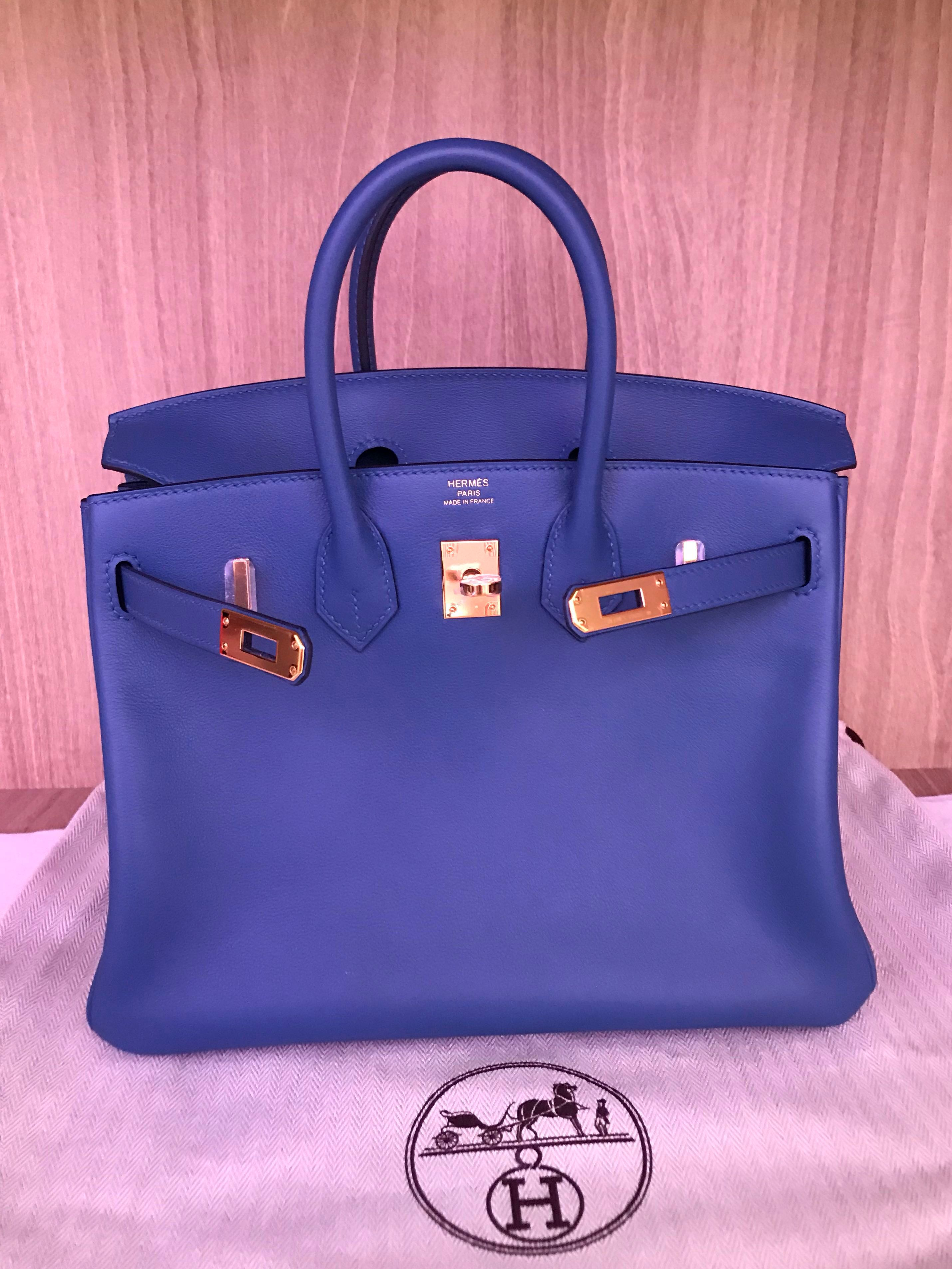 c9842bcb86 Hermes Birkin 25 C stamp BNIB full set includes Boutique receipt ...
