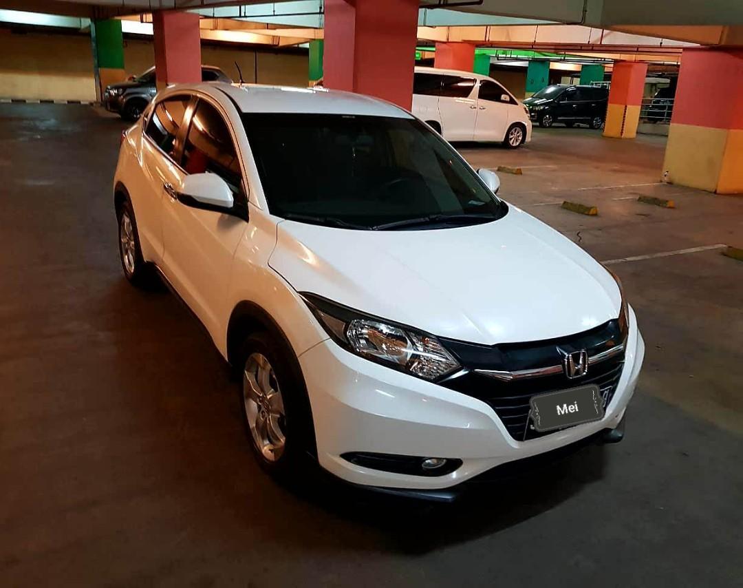 Honda HRV E 1.5 CVT 2015 Byar 25 jt lsg bawa mobil