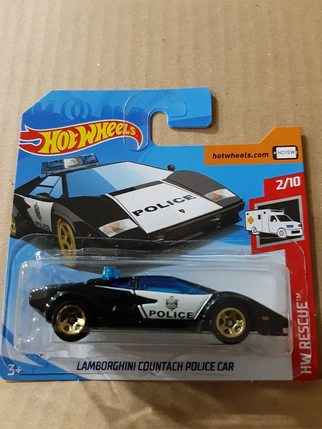 Hot Wheels Lamborghini Countach Police Car Toys Games Others On