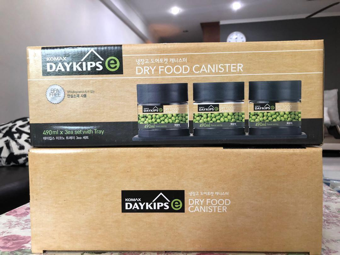Komax Daykips - Dry Food Canister, Home Appliances