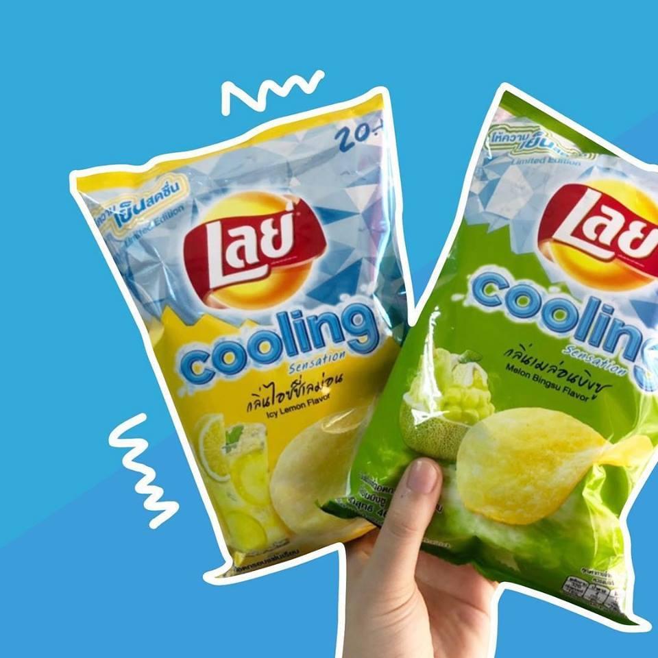 泰國代購@Lay's冰感薯片