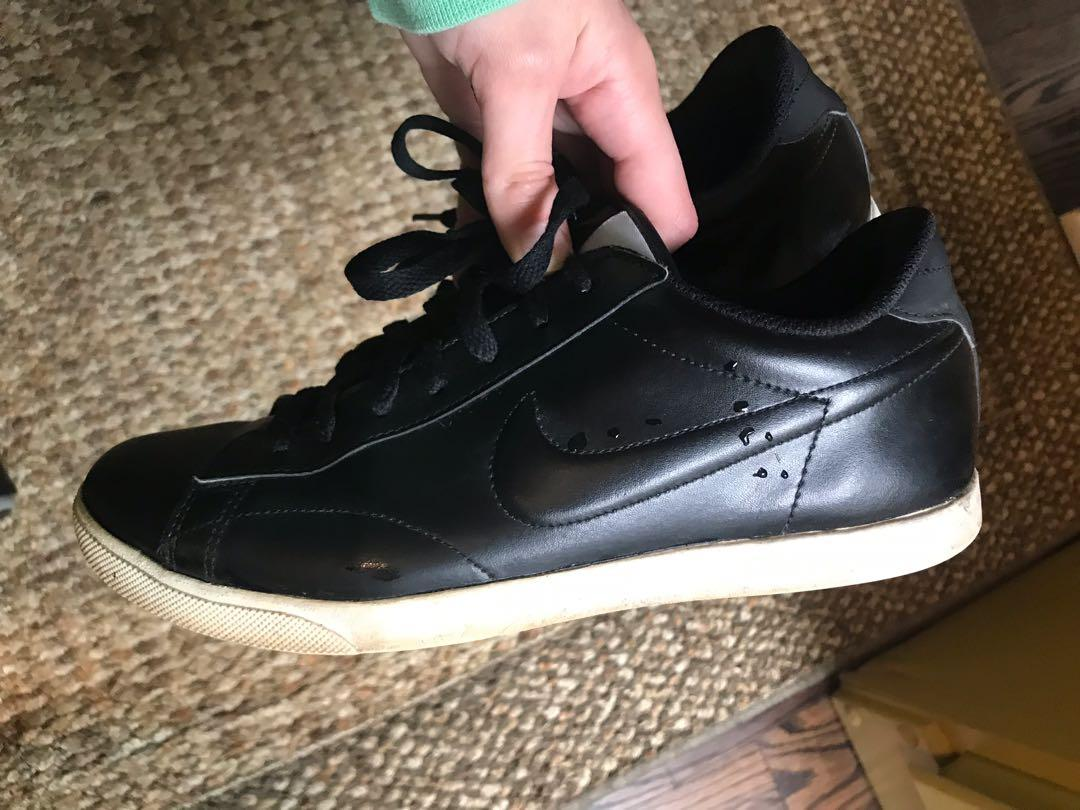 Leather Nike Shoes