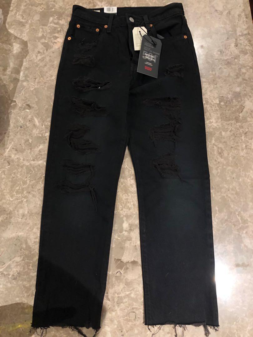 Levi's 501 Original High Waisted Jeans (Size 25/26) (BNWT)