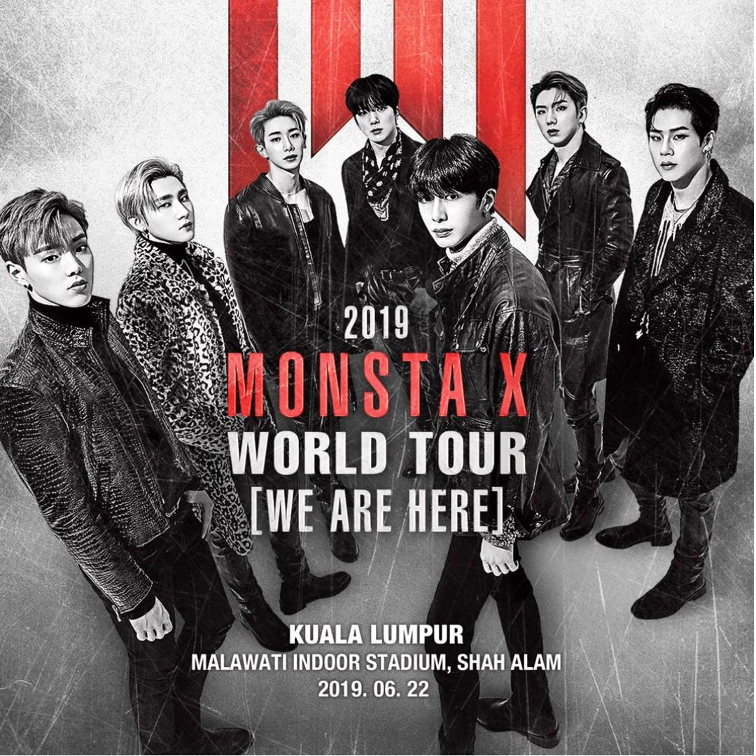 Looking For Red Zone Monsta X Ticket Kuala Lumpur.