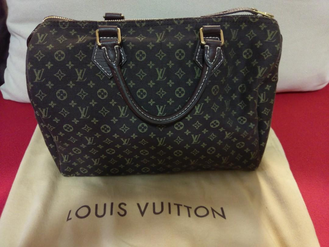 LV 手袋 Monogram Speedy (深啡色)