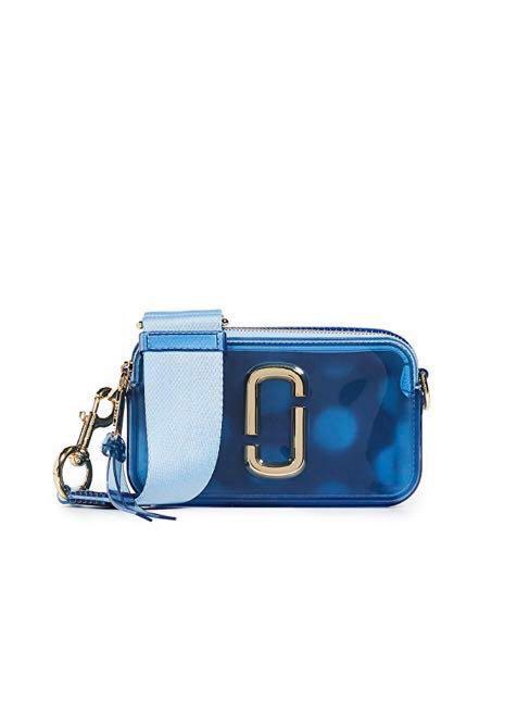 Marc Jacobs The Jelly Glitter Snapshot Camera Bag