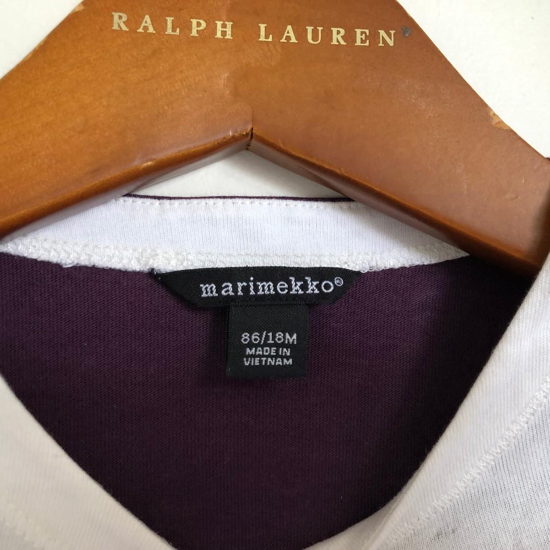 MARIMEKKO Girls Boys Long Sleeve Rabbit Top Sz 18 Months