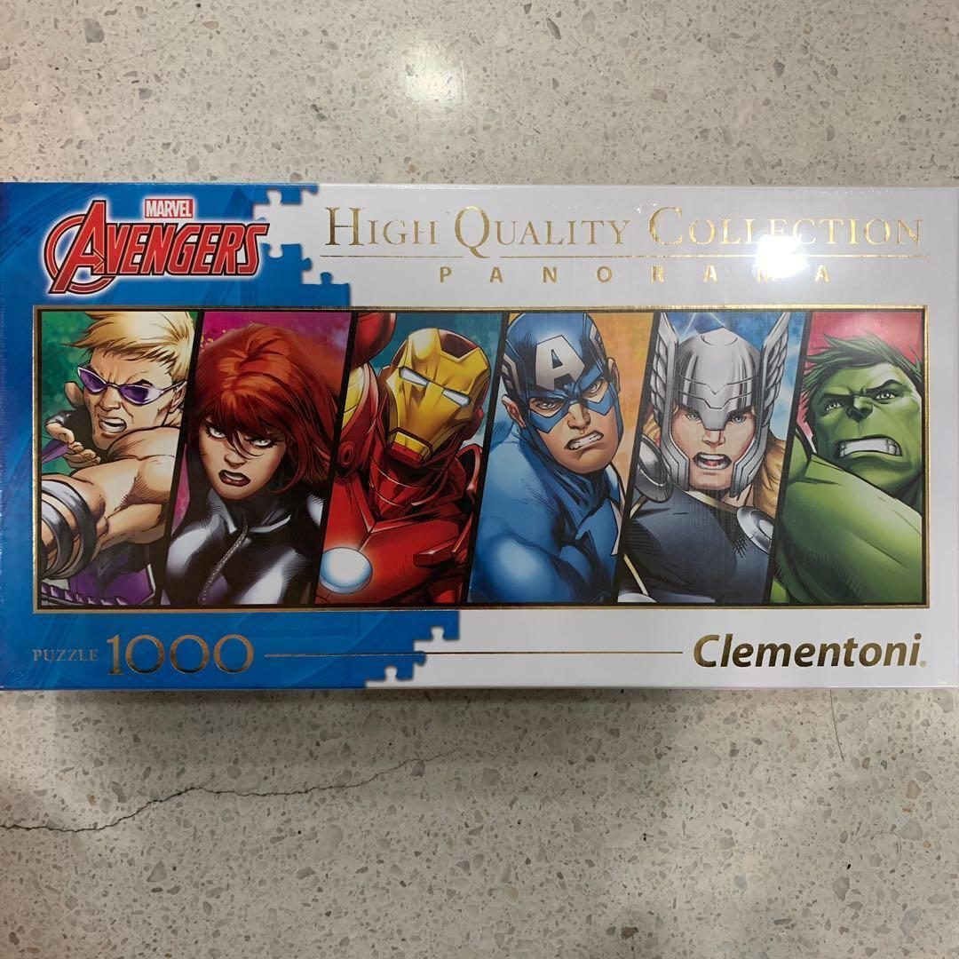 MARVEL AVENGERS 1000 Puzzle Clementoni [100% New]