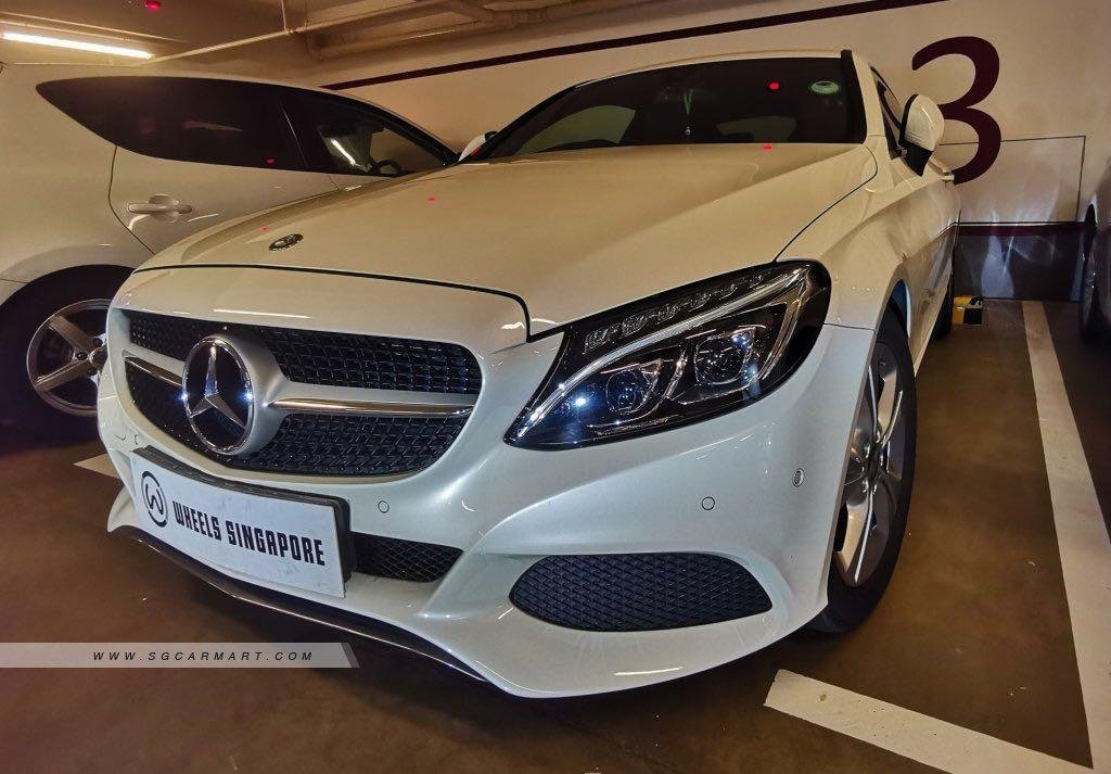 Mercedes-Benz C200 Sports Coupe Auto