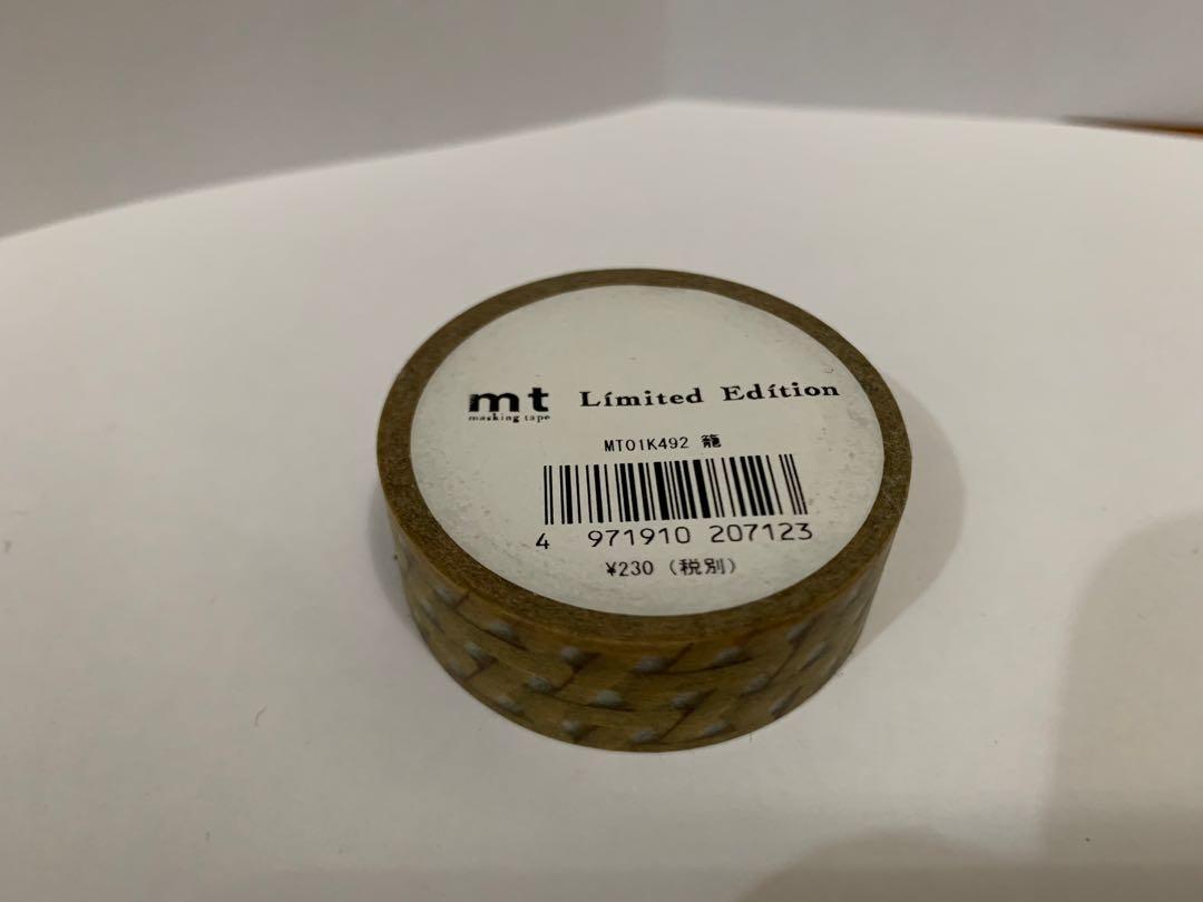 MT Masking Tape  Limited Edition 限定款 香港mt mt香港 mt maskingtape 和紙膠紙 和紙日本mt 和紙膠帶 膠紙 膠帶 文具 日本文具 日本精品 mt原卷 原卷