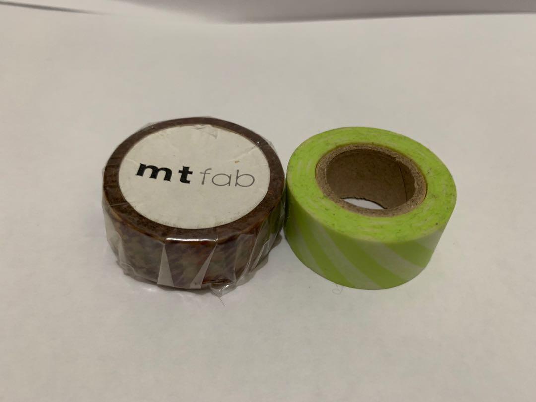 MT Masking Tape mt fab+扭蛋(97% new!!) 香港mt mt香港 mt maskingtape 和紙膠紙 和紙日本mt 和紙膠帶 膠紙 膠帶 文具 日本文具 日本精品 mt原卷 原卷