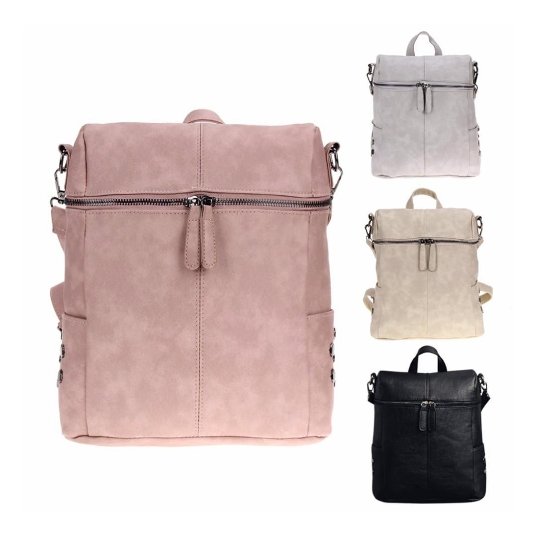 f1776df02761 Multiway Stylish Laptop Bag Travel Casual School Backpack Sling Bags ...