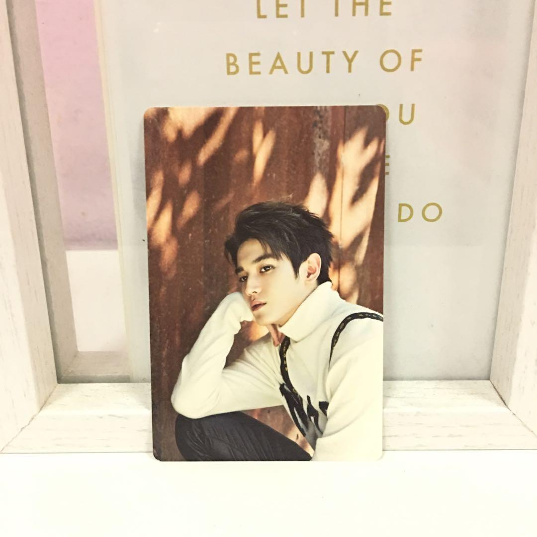 NCT 2017 Season's Greetings Taeyong Mini Calendar Photocard