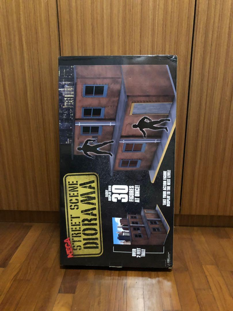 Neca street scene diorama