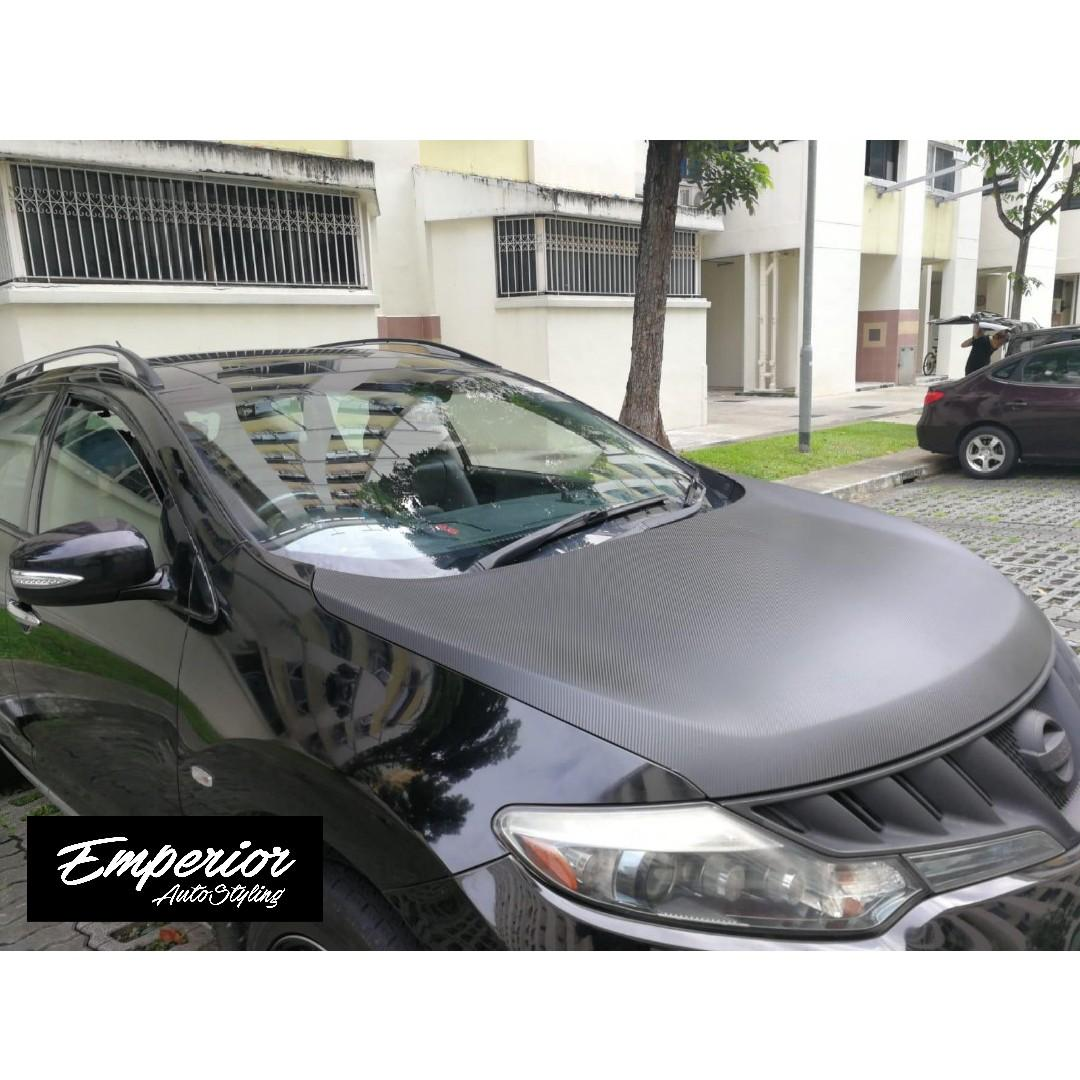 Nissan Murano Bonnet Wrap Car Accessories Accessories On Carousell