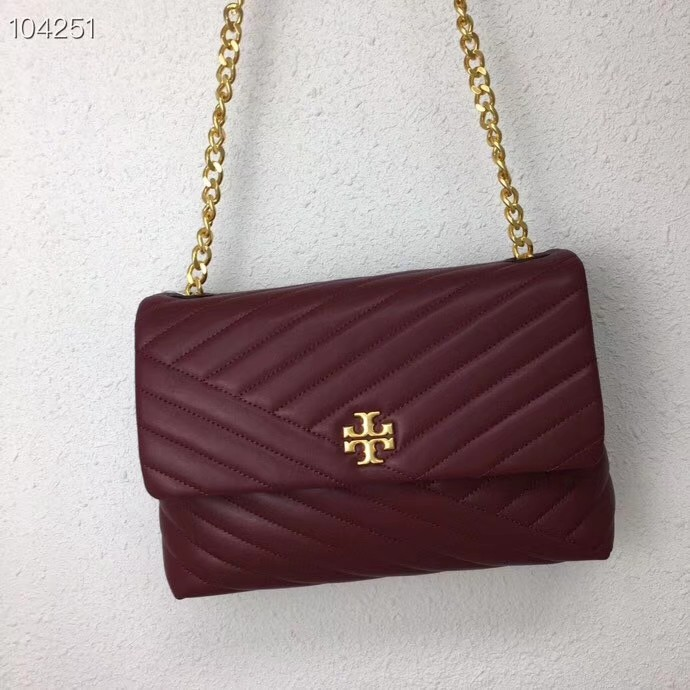 5544ab0dd36 Tory Burch Kira chevron Flap Shoulder Bag, Luxury, Bags & Wallets ...