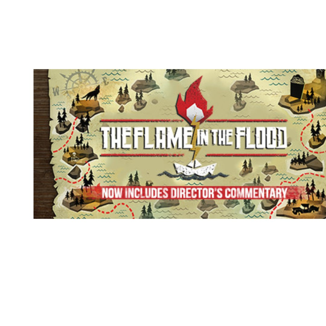 (PC STEAM GAME INSTALL KEY) The Flame in the Flood - SUPER DEAL PRICE SALES  PROMOTION