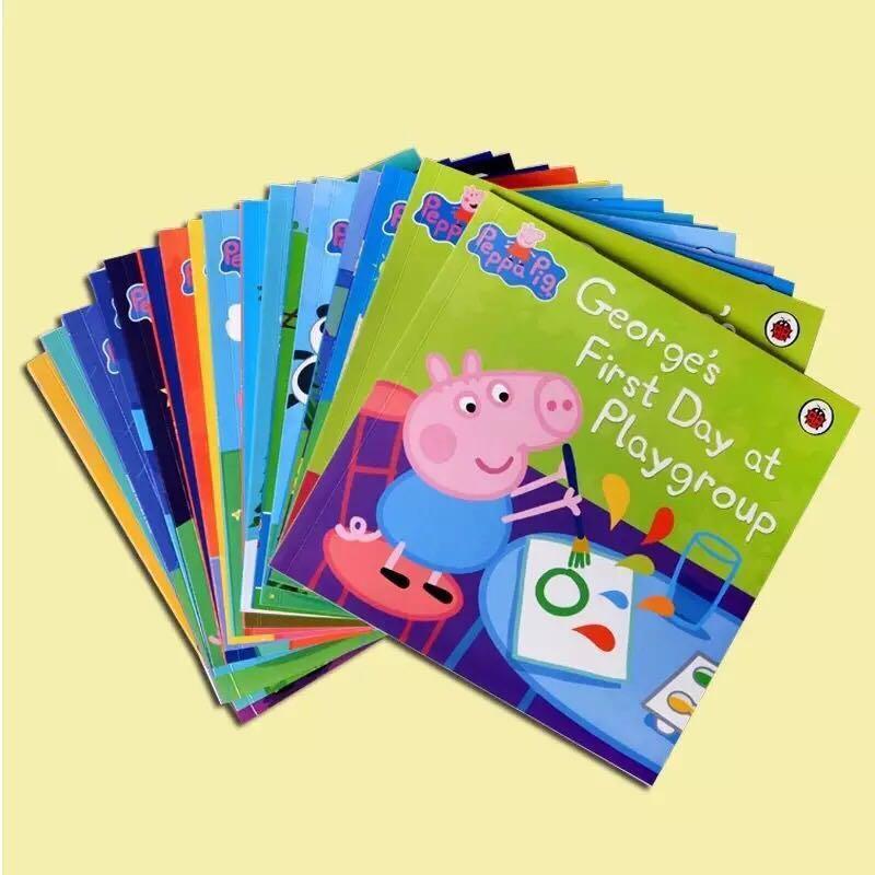 【Peppa Pig 英文故事書套裝 (一套20本)】 連CD