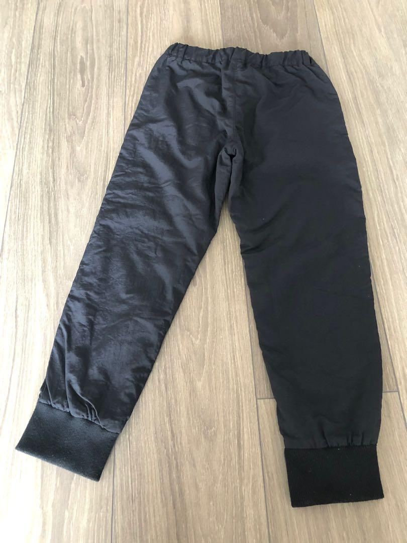 Pre loved Boy Uniqlo water repellent black pants size M