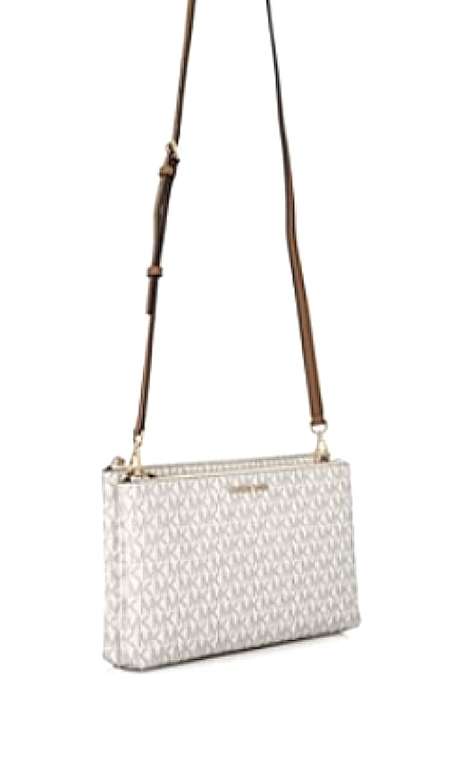 a4b351384 PRE MOTHER'S DAY - 200 ONLY! Michael Kors Adele Double Zip Crossbody ...