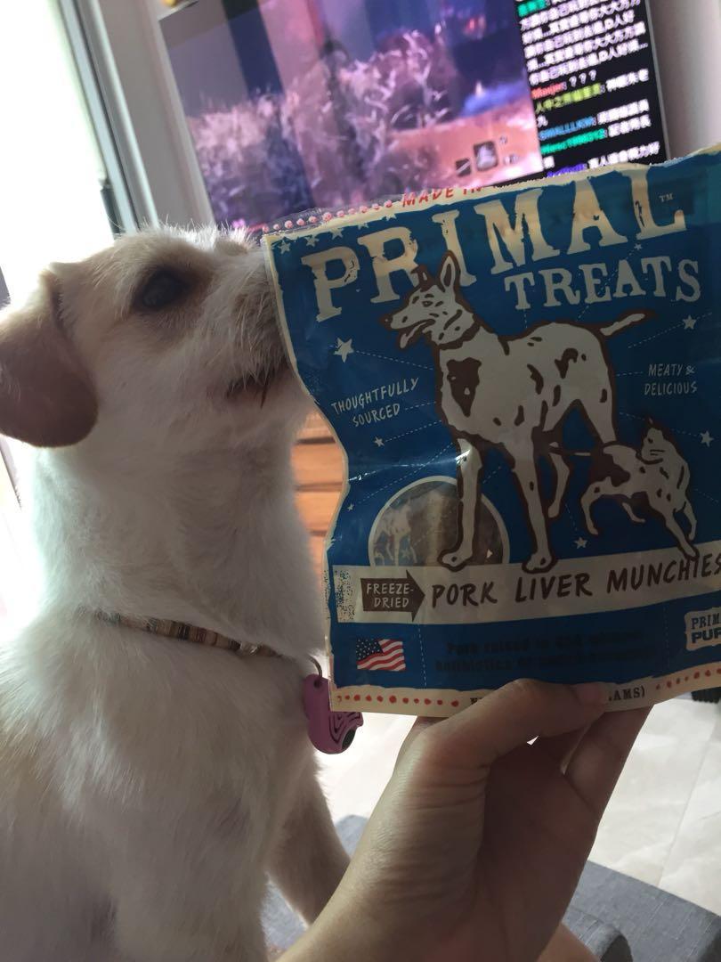 剛剛美國到港Primal凍乾豬肝Primal
