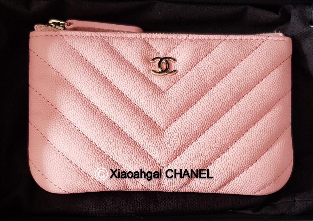 549c85a21d39d3 QYOP •Rare Pink Caviar• Chanel unicorn Authentic limited chervon ...