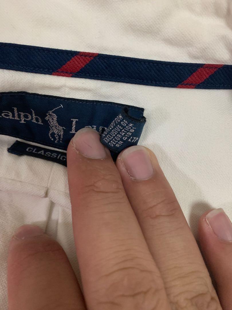 Ralph Lauren classic fit formal shirt